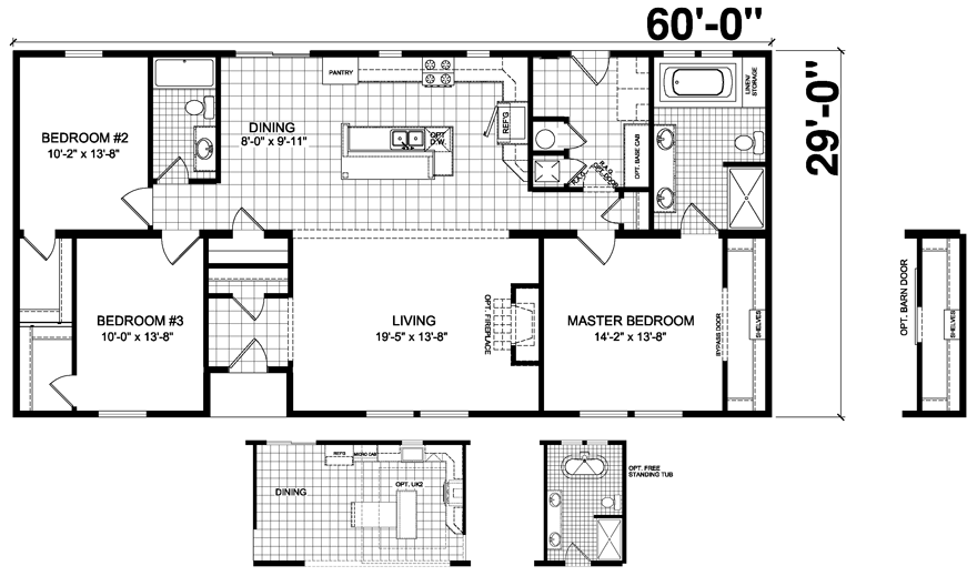 Somerton 29 x 60 1740 sqft mobile home factory expo home for 14 x 60 mobile home floor plan