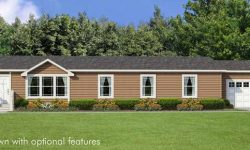 Margrave Double Wide Mobile Home Artist Rendering